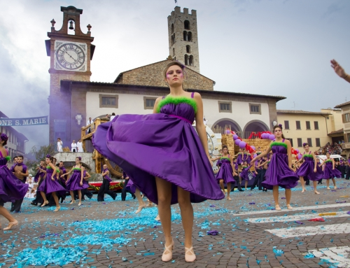 89th Grape Festival in Impruneta Florence
